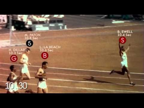 A legendary 100-metre sprint at the London 1948 Olympic Games