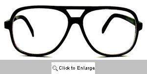 Slide Rule Oversized Clear Glasses - 568 Tortoise