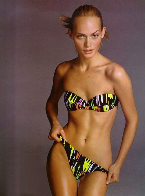 Amber Valletta Versace | You better work!! | Pinterest ...