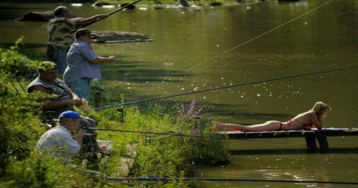 Ανέκδοτο: τέσσερις παντρεμένοι πάνε για ψάρεμα! Crazynews.gr