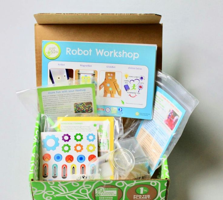 Green Kids Crafts Subscription Box review - May 2017