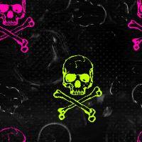 Animated Skull and Crossbones   510-1284680774-bg-flashing-colorful-skulls-and-crossbones.gif