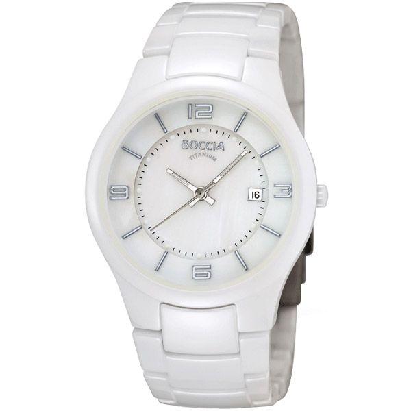 Boccia - Ladies White Ceramic Watch - B3196-01 - RRP £225.00 - Online Price £191.00