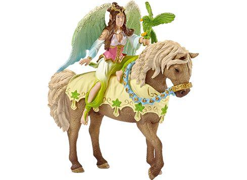 SCHLEICH 70504 Bayala Surah i festkjole - til hest