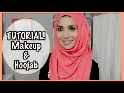 SUMMER MAKEUP & HOOJAB STYLE! | Amenakin - YouTube