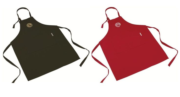 MASTERCHEF COOK'S APRON - RED or BLACK