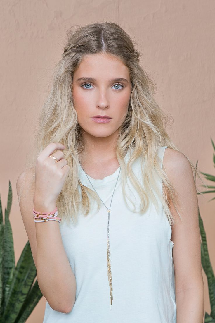 Festival Necklace by Shlomit Ofir from the Palm Springs Jewelry Collection.  Inspired by Coachella