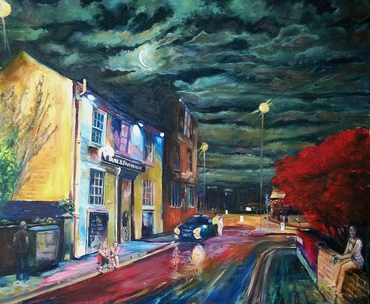 The Bull and Fairhouse Pub in Wakefield my new painting