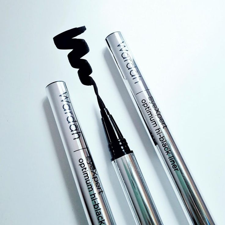"""""""Welcome December, Ladies!  This is our new product Wardah EyeXpert Optimum Hi-Black Liner.  Be ready in a blink of an eye with easily applied high…"""""""