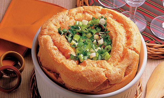 Suflê de abóbora  Receita: http://mdemulher.abril.com.br/culinaria/receitas/receita-de-sufle-abobora-553578.shtml