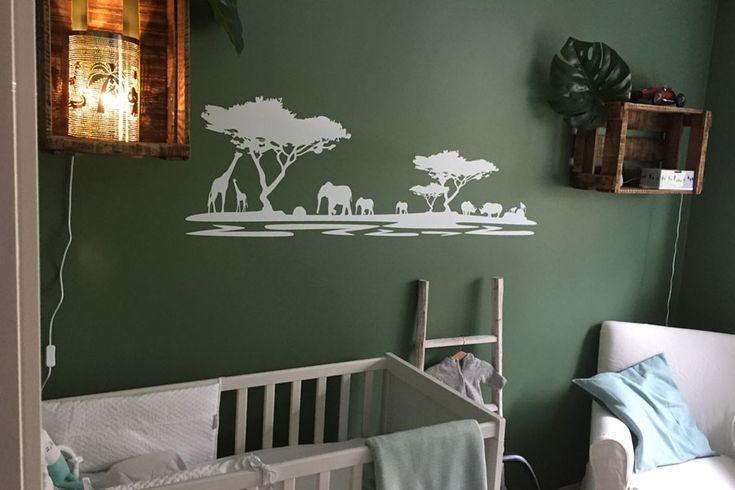 Babykamer jungle