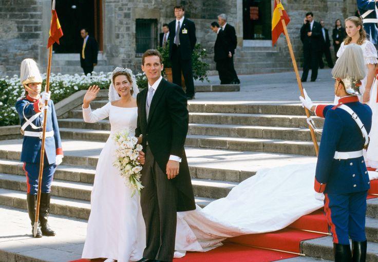 PRINCESA ESPANHOLA CRISTINA E INAKI URDANGARIN, 1997