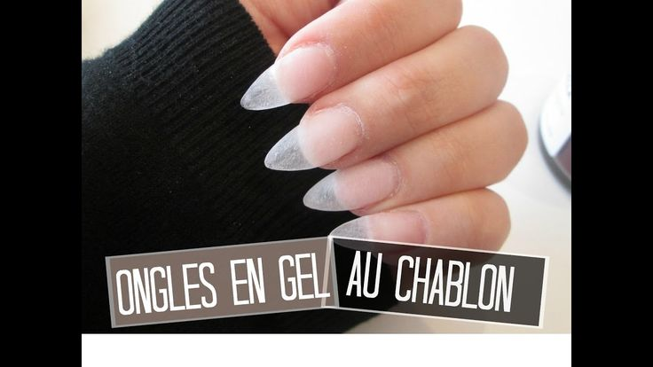 TUTO Ongles en gel extension au chablon | Melissa Nails Be