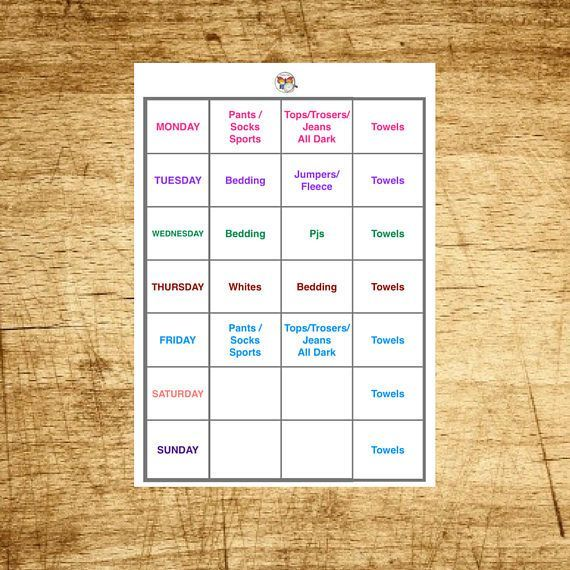 Hello and welcome, This Printable Planner is designed to revolutionise Your Laundry organisation. This is due to its Unique key feature which is customisation. Everything inside the sections of the Planner will be customised and personalised just for your household