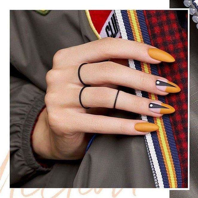 50 perfect almond nail art designs for this winter 22