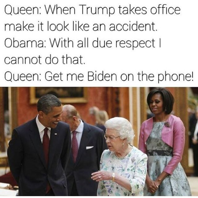 Biden no punk bitch