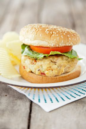 Paula Deen Tuna Burger-- use gluten free breadcrumbs, wonder if ground flax seed would do it?, no horseradish or pimento, otherwise gonna try this