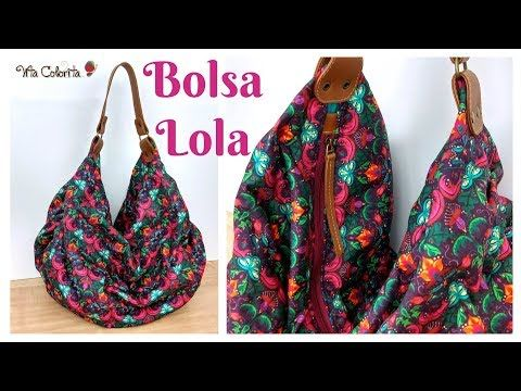 Paso a paso   Bolsa Lola – YouTube