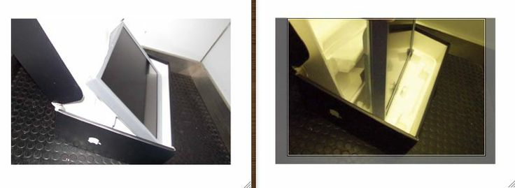 The original Elevator shot!  in August 2004, just prior to the release of the iMac G5, these bogus iMac images appeared around the Internet.