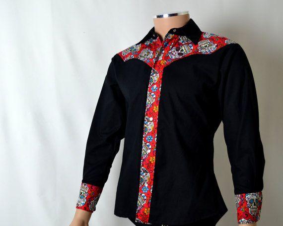 H m black dress shirt 6xlt