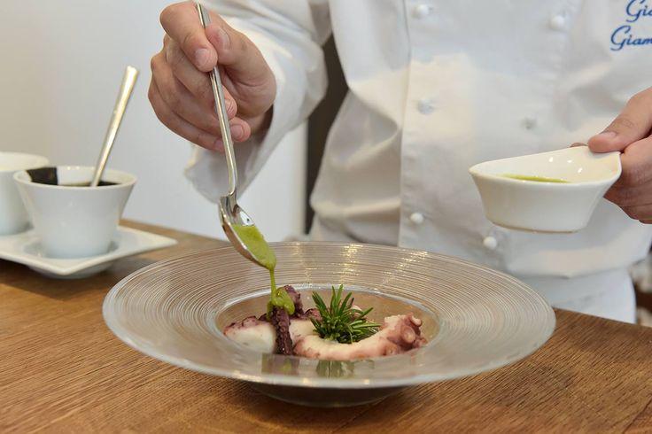 Dal nostro laboratorio del gusto, sempre aperto alle nuove avant-garde culinary, senza mai dimenticare territorio e stagionalità, l'ultima importante collaborazione con Giovanni Giammarino, il nostro nuovo executive chef.