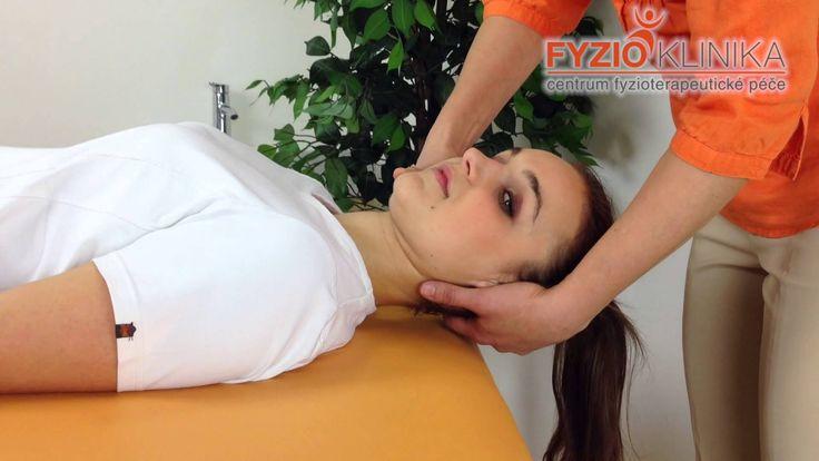 Mobilizace krčních obratlů při migrénách, šumění v uších, bolestech hlav...