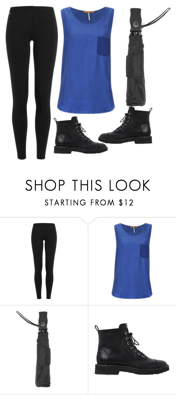 """Humid Rainy Day"" by jjwahlberg ❤ liked on Polyvore featuring Polo Ralph Lauren, BOSS Orange, Totes and Giuseppe Zanotti"