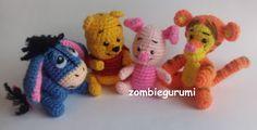 Amigurumis: Winnie Pooh amigurumi... PATRÓN GRATIS                                                                                                                                                      Más