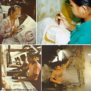 how to make batik, with manual process. 100% hand made drawing batik is the most expensive.