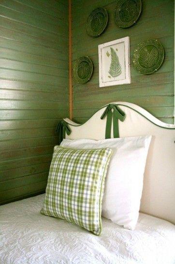 Camera da letto verde - Come arredare casa con il verde per una zona notte tranquilla e rilassante.