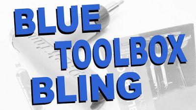 Blue Toolbox Bling | Park Tool ~ Fatbike Republic