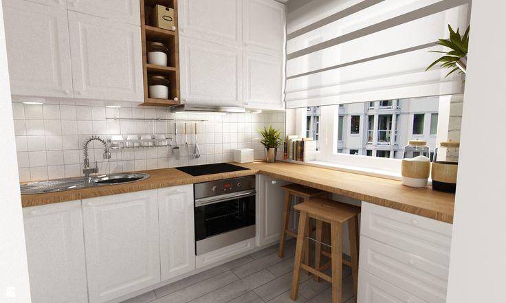 Kuchnia styl Prowansalski - zdjęcie od Grafika i Projekt architektura wnętrz - Kuchnia - Styl Prowansalski - Grafika i Projekt  architektura wnętrz