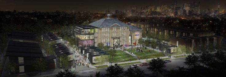 Proposal for the future of the King Edward school in Calgary as it transforms into cSpace King Edward.