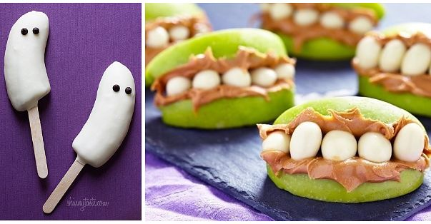 802 best yumyums 2016 images on pinterest cooking for Easy halloween treats for work party