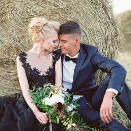 Для тех, кто любит делать все наоборот: черные свадьбы