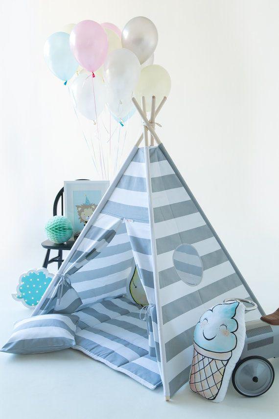 Kids Teepee Play Tent  Best Birthday Gift от WigiWama на Etsy
