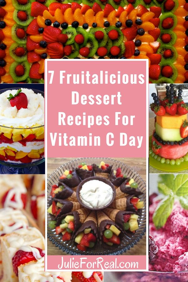 Delicious Fruit Dessert Recipes. Gotta get your vitamin C. Maybe you can count these desserts as healthy because they have fruit in them! Fruitalicious!