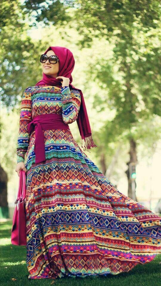 Colorful Boho style