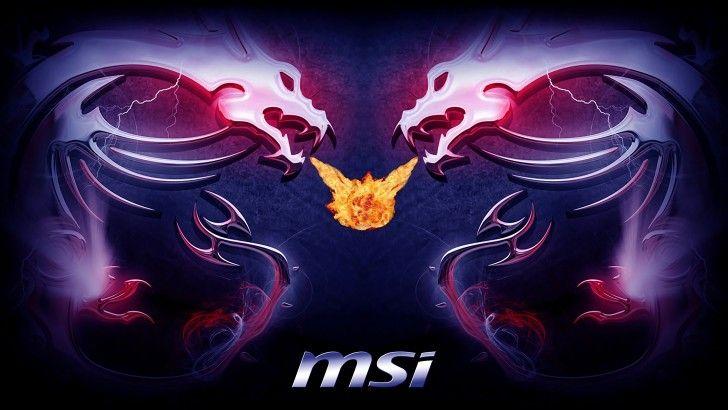Download MSi Logo Dragon Wallpaper 3840x2160