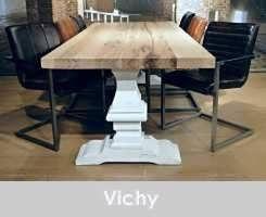 kloostertafel vichy 240x100 ultra matte lak blad witte poot (3)