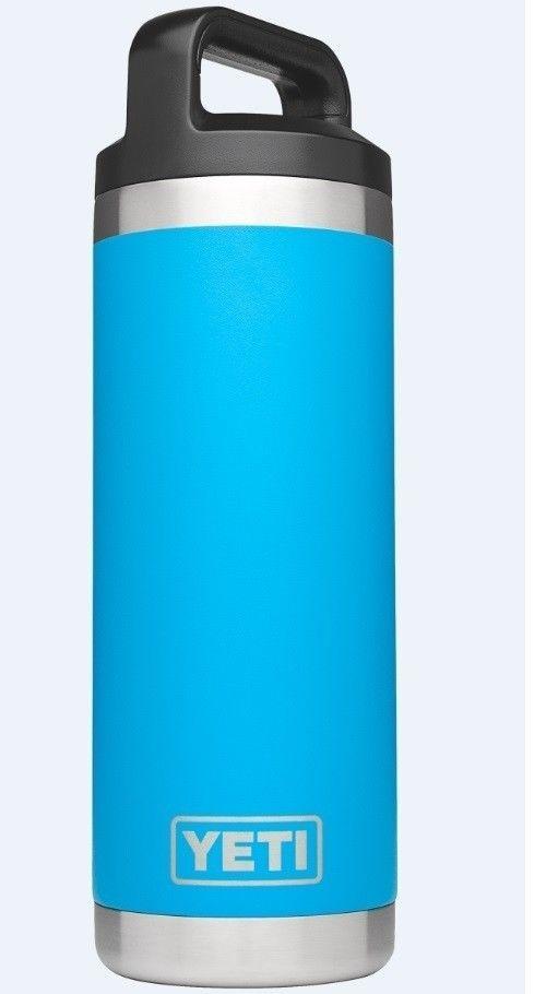 YETI Rambler 18oz Bottle Tahoe Blue #Yeti
