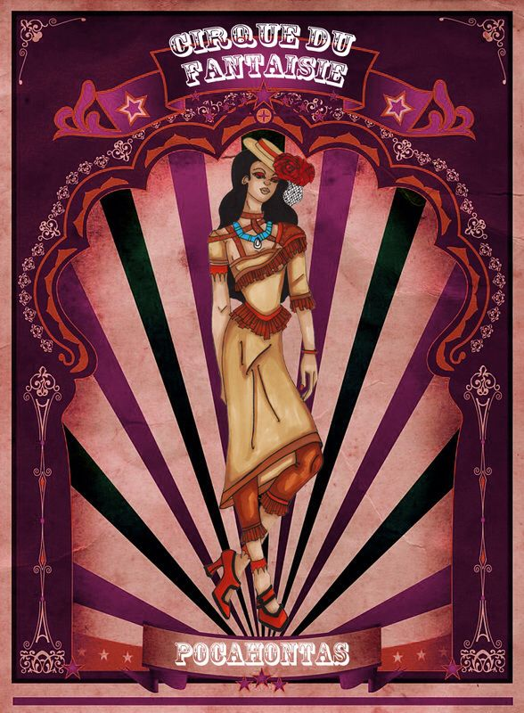 Pocahontas by Louise's Designs (c) 2015