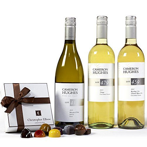 Cameron Hughes Sweet Whites + Chocolates Wine Gift Set. 3 x 750mL