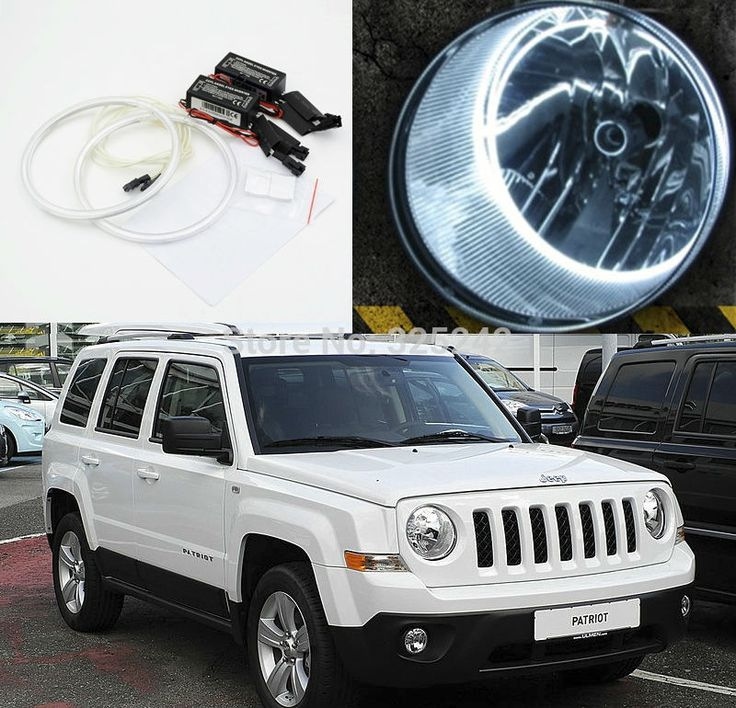 (32.00$)  Watch here - http://aizpz.worlditems.win/all/product.php?id=32509246108 - For Jeep Patriot 2007 2008 2009 2010 2011 2012 2013 Excellent angel eyes Ultrabright illumination CCFL Angel Eyes kit Halo Ring