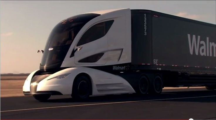Walmart reveals its WAVE concept hybrid powered semi-trailer truck
