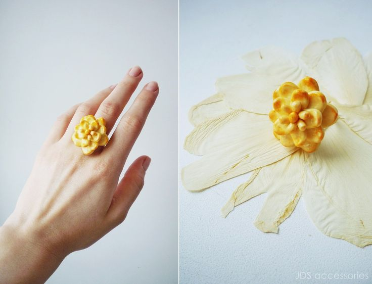 JDS Accessories by Natasha Kolesova 💛SUCCULENT RING💛 Polymer clay, handicraft Limited edition Buy now http://vk.com/market-20101066 #JDS #JDSaccessories #jdsfashion #accessories #handicraft #designerjewelry #NatashaKolesova #yellow #succulent #ring #polimerclay #fashiondetails #fashionart #popculture #nizhnynovgorod #ательеjds #украшения #бижутерия #аксессуары #ручнаяработа #дизайнерскиеукрашения #желтый #суккулент #кольцо #полимернаяглина #НаташаКолесова #мода #детали #искусство