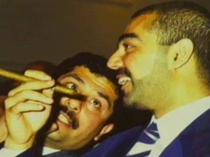 Uday & Qusay Hussein.