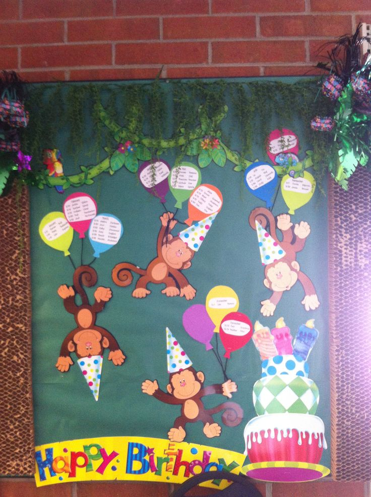 Classroom Decorations Bulletin Boards : Best classroom themes jungle monkey decor images on
