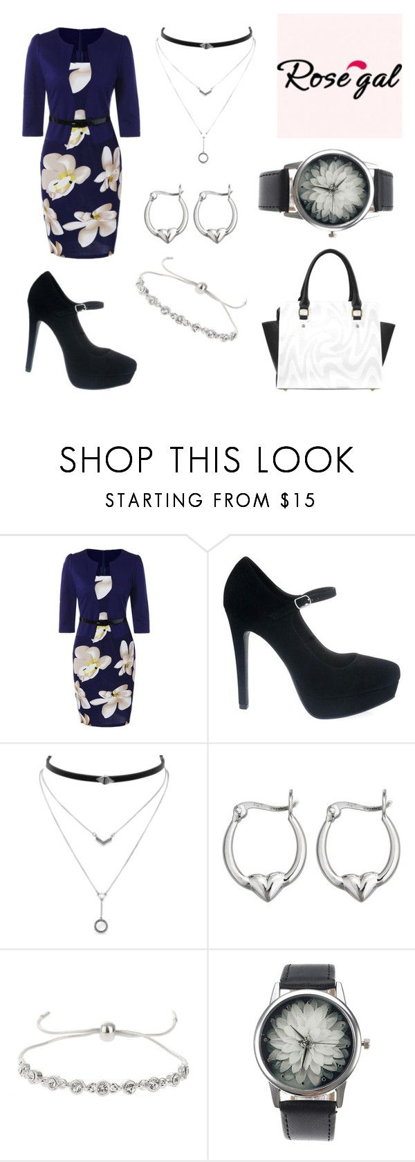 Untitled #103 by ziadvil on Polyvore featuring Miss Selfridge, Decadence and Jessica Simpson