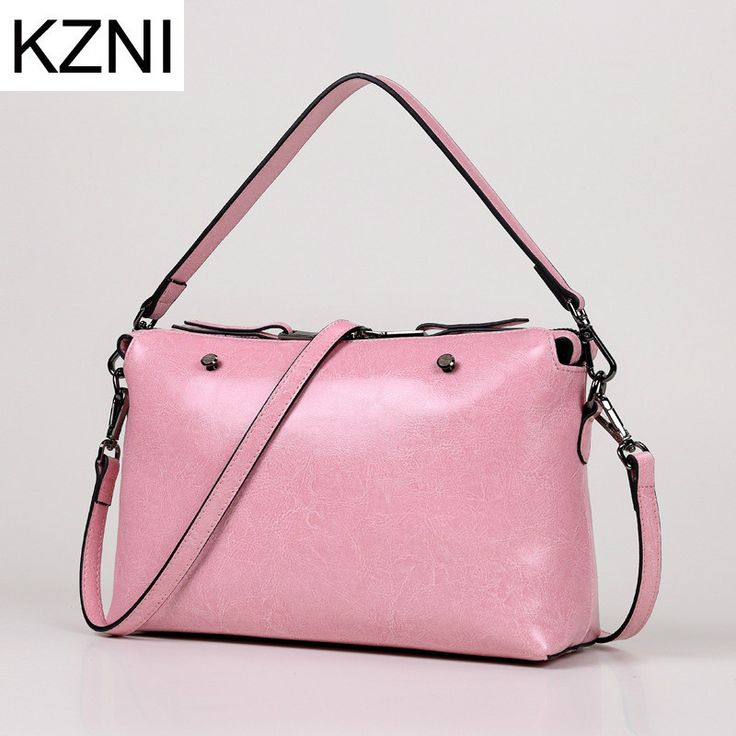 KZNI bags handbags women famous brands female genuine leather handbags obag luxe handtassen vrouwen tassen designer L010136